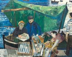 The Fish Market By Guy Bardone