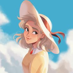 All Studio Ghibli Movies, Art Studio Ghibli, Studio Ghibli Characters, Sophie Howl's Moving Castle, Howls Moving Castle, Personajes Studio Ghibli, Howl And Sophie, Character Art, Character Design