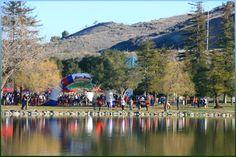 Hellyer Half Marathon 10K 5K Saturday March 2, 2013 San Jose, California, Hellyer County Park, Coyote Creek Trail