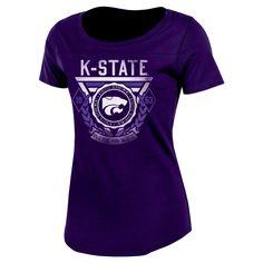 NCAA Kansas State Wildcats Women's T-Shirt - M, Multicolored