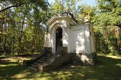 The beautiful renovated orthodox tomb chapel  (Cerkiewka) was built in 1885…