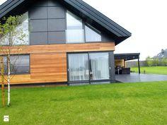 Okna drzwi elewacje , wiatrołap Domy - zdjęcie od Alpina Design Ogrody Zimowe & Szkło Architektoniczne