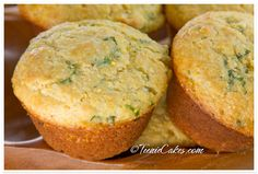 Savory Polenta Herb Muffins - these were incredible!  Got soggy after a day, but pop in the toaster for easy fix.
