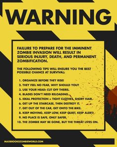 Zombie survival guide.