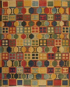 Sunrise Flatweaves - Bonita - Samad - Hand Made Carpets