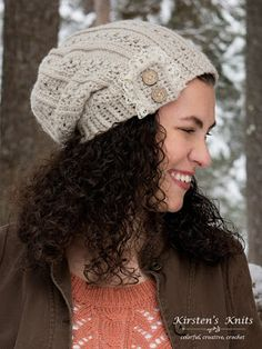 Kirstens Knits: Pattern - Primrose and Proper Slouch Hat