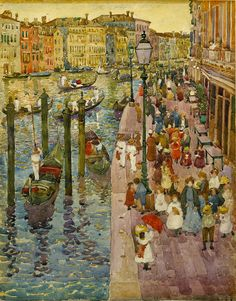 Maurice Prendergast: The Grand Canal, Venice, 1898