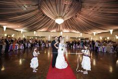 Bill & Maria 17.11.12 #wedding #bride #groom #flowergirl #dress #ballroom #melbourne #venue #sanremoballroom