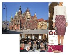 """""""Attending a conference and reception on European Rare disease day at Wrocław Town Hall."""" by matylda-ofpoland ❤ liked on Polyvore featuring David Yurman, Dolce&Gabbana, Tory Burch, L.K.Bennett and Gianvito Rossi"""