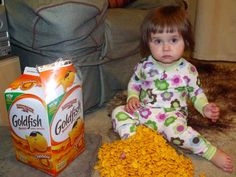 The amount of Goldfish you are going to eat is directly related to how many are in your house. | 26 Signs Your Addiction To Goldfish Crackers Has Gotten Out Of Control