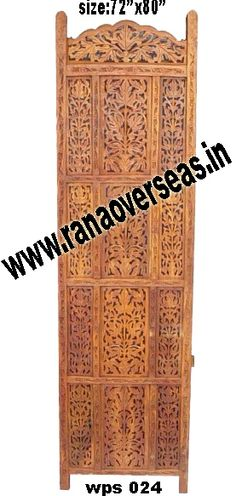 Wooden Partition Screen Rana Overseas is the Manufacturer & Exporter of Wooden Partition Screen, Room dividers are often used in commercial offices or homes to seperate rooms or to block light. Wooden room divider screens are very popular.Deciding on the right wood folding screen is simply a matter of personal taste. For those that appreciate unique style folding screens,our hand carving abstract dividers may be a consideration.