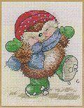 Country/Folk Art - Cross Stitch Patterns & Kits--love hedgehogs!