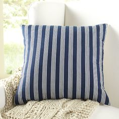 Found it at Wayfair - Vaughn Striped Pillow Cover