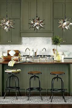 Cocinas verdes...