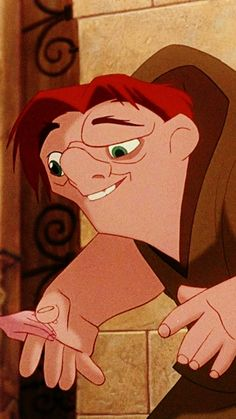 """Fave singing voice (Blue 30 Day Challenge, Day # 16): Quasimodo (Tom Hulce), """"The Hunchback of Notre Dame, 1996"""