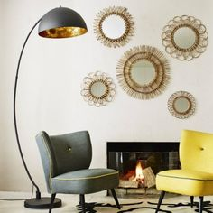 10 Mid-Century Modern Black Floor Lamps - Home Design Ideas #interiordesign #lighting See more at: http://www.homedesignideas.eu/mid-century-modern-black-floor-lamps/