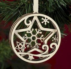 Flourish Ornaments from Enesco at Fiddlesticks