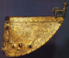 Wolf ornament on Viking ship weather vane. 11th Century CE. Heggen, Norway
