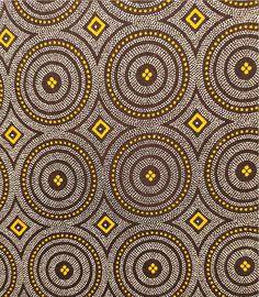 Tissu Marron Shweshwe - 100% coton - 50 cms - Afrique du Sud by MathildeAndCo on Etsy