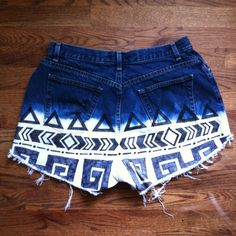OH SO PRETTY the DIARIES: fail AND REDEMPTION: BLEACHED SHORTS