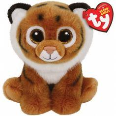 Ty Beanie Babies Wildlife Tiggs - Der Plüschtiger mit den grossen Augen.