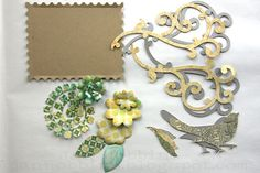 Sizzix Die Cutting Inspiration and Tips: Hover Hummingbird Layout