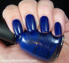 Holly and Polish: China Glaze Man Hunt