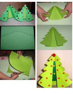 Modo de fazer árvore