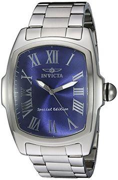 Invicta Men's 21391 Lupah Stainless Steel Bracelet Watch with Blue Dial Invicta http://www.amazon.com/dp/B011N5PK46/ref=cm_sw_r_pi_dp_JamXwb1JJQ0XP