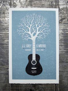 J.J. Grey & Mofro // Concept by Pete Alwan, via Behance