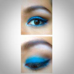 #eyemakep #eyeshadow #makeup #mascara #eyeliner #blue #silver #brow #dulcecandy #pretty #bhcosmetics