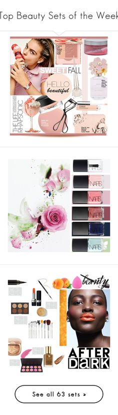 """""""Top Beauty Sets of the Week"""" by polyvore ❤ liked on Polyvore featuring beauty, Marc Jacobs, Nails Inc., MAC Cosmetics, Paul & Joe Beaute, Shiseido, Christian Louboutin, Too Faced Cosmetics, Clinique and Bodycology"""