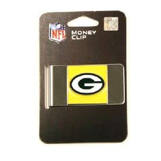 GREEN BAY PACKERS NFL MONEY CLIP FREE SHIPPING