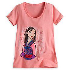 Mulan Tee for Women - Disney Fairytale Designer Collection