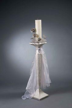 Λαμπάδα γάμου MELITA S - Είδη γάμου & βάπτισης, μπομπονιέρες γάμου   Tresjoliebyfransis