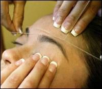 eyebrow threading - Google Search  I think this is the best for my brows, I love how precise it looks after, and it takes a long time to grow back!