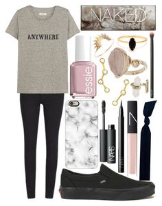 """""""Can't wait for March☘"""" by emmacaseyyyy ❤ liked on Polyvore featuring Cheap Monday, Madewell, Vans, Casetify, Essie, Emi-Jay, NARS Cosmetics, Logan Hollowell, Urban Decay and Topshop"""