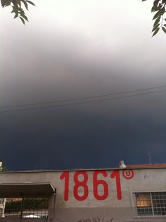Storm in milan Photo by Elena Ravano