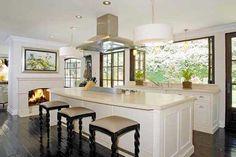 Kim Kardashian's kitchen design.