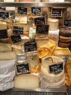 #EatalyNYC cheese counter in New York City. An amazing gourmet shop not to be missed.