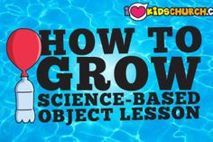 Object Lessons | I Love Kids Church