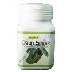 Menjual Herbal ekstrak daun sirsak :  Anti oksidan, meningkatkan kekebalan tubuh, membantu mengatasi radang, menghambat pertumbuhan sel kanker.  Harga Rp 70.000