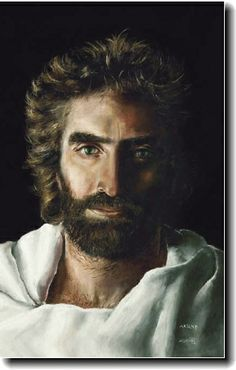 "This is what Jesus looks like. Both Akiane (who painted this picture of Jesus at age 8) and Colton (the little boy at age 4 in the book ""Heaven Is For Real"") have been to heaven and spent time with Him. Akiane says that there are more colors in heaven then we have here on earth. I can't wait."
