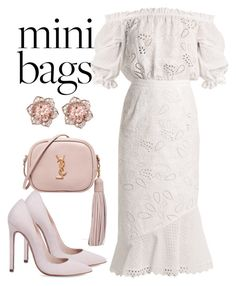 """""""Untitled #588"""" by jakie-garita ❤ liked on Polyvore featuring Saloni and Yves Saint Laurent"""