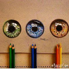 34 New Ideas for eye iris art beautiful Eye Art, Art Lessons, Colorful Drawings, Eye Drawing, Pencil Art, Drawings, Iris Art, Color Pencil Art, Art Pages