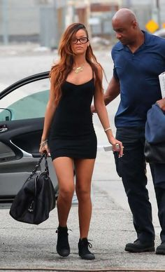 bodycon dress and sneakers