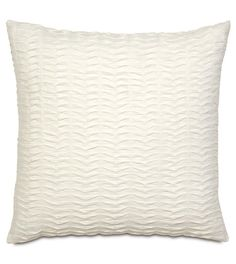 Yearling Pearl Euro Sham from Eastern Accents Euro Pillow Covers, Euro Shams, Throw Pillow Sets, Patio Pillows, Outdoor Throw Pillows, Eastern Accents, Luxury Bedding Collections, Soft Furnishings, Decorative Pillows
