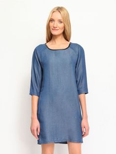 Γυναικείο φόρεμα Χρώμα: Μπλε Cold Shoulder Dress, Casual, Dresses, Fashion, Gowns, Moda, Fashion Styles, Dress, Vestidos