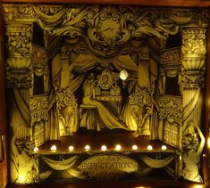Victorian toy theatre idesigned and llustrated by Amy Dodd.