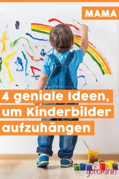 4 geniale Ideen, um Kinderzeichnungen stilvoll aufzuhängen Kids Rugs, Blog, Decor, Kid Drawings, Kid Pics, Wishes For Mother's Day, Creative Kids Rooms, Pregnancy Weeks, Decoration